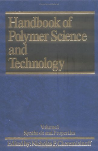 9780824781736: Handbook of Polymer Science and Technology. Volume 1: Synthesis and Properties