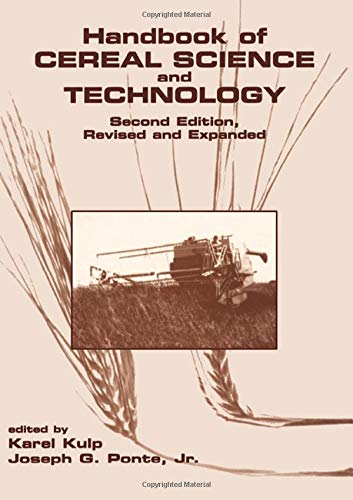 Handbook of Cereal Science and Technology 2nd: Kulp, Karel &