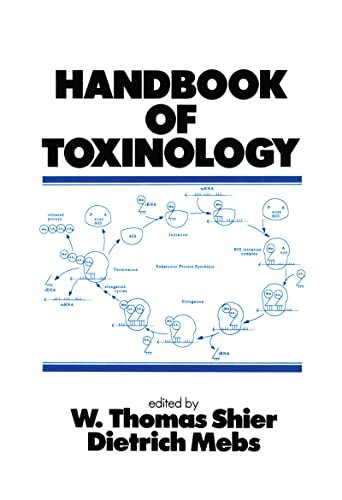 Handbook Of Toxinology: Mebs, D.; Shier,