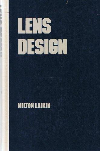 9780824784034: Lens Design (Optical Engineering, Vol 27)