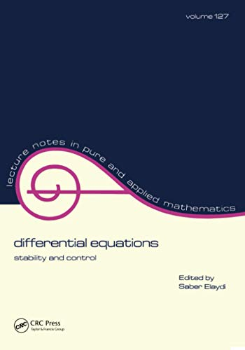 Differential Equations: Stability and Control: Elaydi, Saber N.