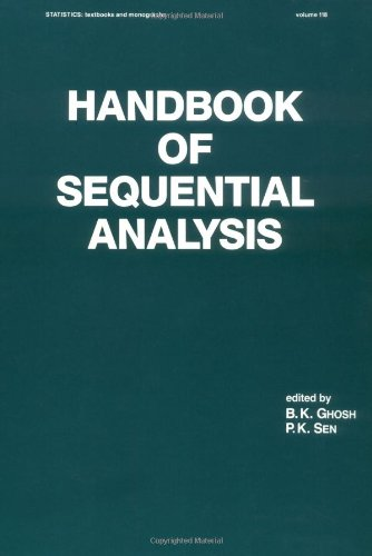 9780824784089: Handbook of Sequential Analysis (Statistics: A Series of Textbooks and Monographs)