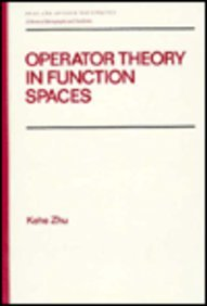 9780824784119: Operator Theory in Function Spaces (Chapman & Hall Pure and Applied Mathematics)