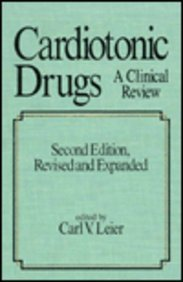 9780824784713: Cardiotonic Drugs: A Clinical Review (Fundamental and Clinical Cardiology)