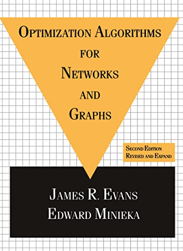 9780824786021: Optimization Algorithms for Networks and Graphs, Second Edition,