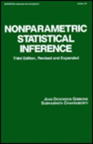 9780824786618: Nonparametric Statistical Inference (Statistics: A Series of Textbooks and Monographs)