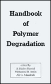 Handbook of Polymer Degradation (Environmental Science and Pollution Control Series): Amin, Mohamed...