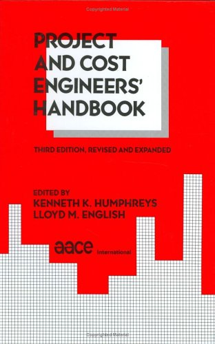 9780824787462: Project and Cost Engineers' Handbook, Third Edition, (Cost Engineering)