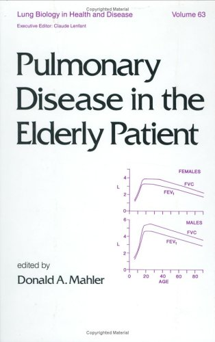 9780824787523: Pulmonary Disease in the Elderly Patient (Lung Biology in Health and Disease)