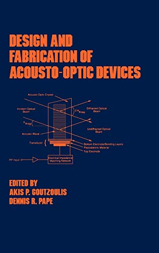 9780824789305: Design and Fabrication of Acousto-Optic Devices (Optical Science and Engineering)
