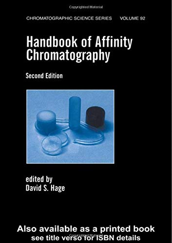 9780824789398: Handbook of Affinity Chromatography (Chromatographic Science Series)