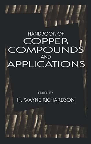 9780824789985: Handbook of Copper Compounds and Applications