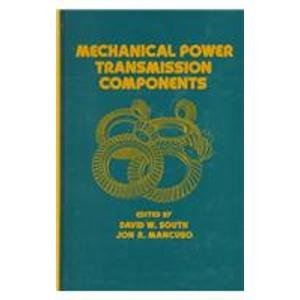 9780824790363: Mechanical Power Transmission Components (Mechanical Engineering)