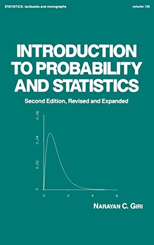9780824790370: Introduction to Probability and Statistics, 2nd Edition (Statistics: A Series of Textbooks and Monographs)