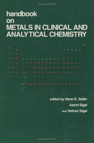 9780824790943: Handbook on Metals in Clinical and Analytical Chemistry