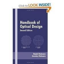Handbook Of Lens Design (Hb)
