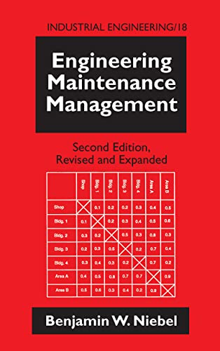 9780824792473: Engineering Maintenance Management, Second Edition, (Industrial Engineering: A Series of Reference Books and Textboo)