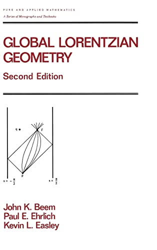 9780824793241: Global Lorentzian Geometry, Second Edition (Chapman & Hall/CRC Pure and Applied Mathematics)