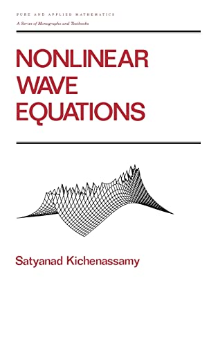 9780824793289: Nonlinear Wave Equations (Chapman & Hall/CRC Pure and Applied Mathematics)