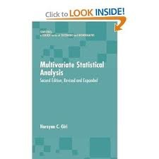 9780824793388: Multivariate Statistical Analysis (Statistics, Textbooks and Monographs)