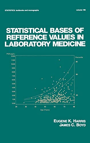 9780824793395: Statistical Bases of Reference Values in Laboratory Medicine (Statistics: A Series of Textbooks and Monographs)