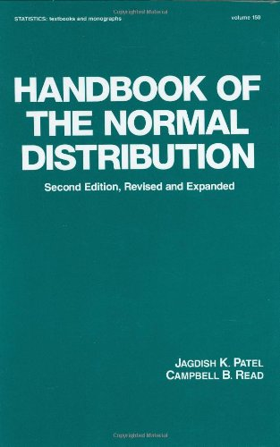 9780824793425: Handbook of the Normal Distribution, Second Edition (Statistics: A Series of Textbooks and Monographs)