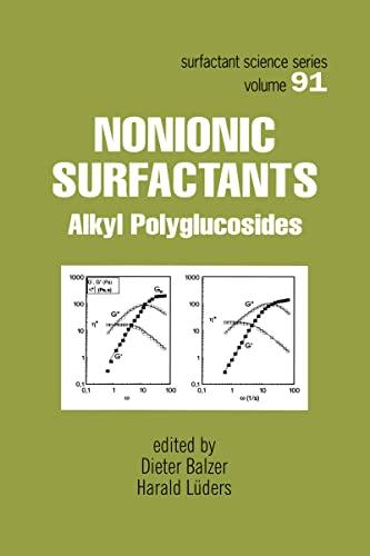 Nonionic Surfactants: Alkyl Polyglucosides: Balzer, Dieter
