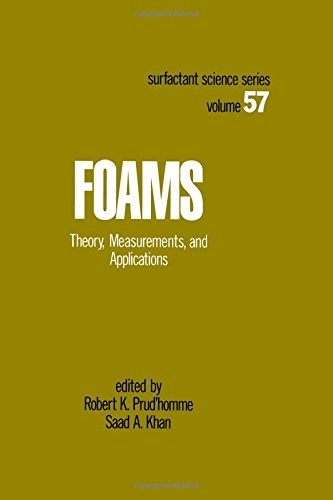 9780824793951: Foams: Theory: Measurements: Applications (Surfactant Science)