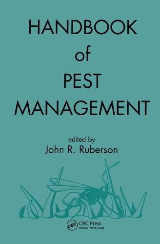 Handbook of Pest Management (Hardback): John R. Ruberson