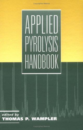 9780824794460: Applied Pyrolysis Handbook