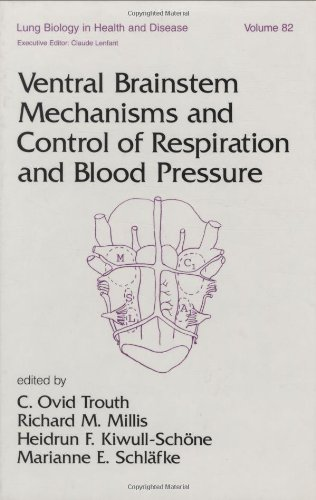 9780824795146: Ventral Brainstem Mechanisms and Control of Respiration and Blood Pressure (Lung Biology in Health and Disease)