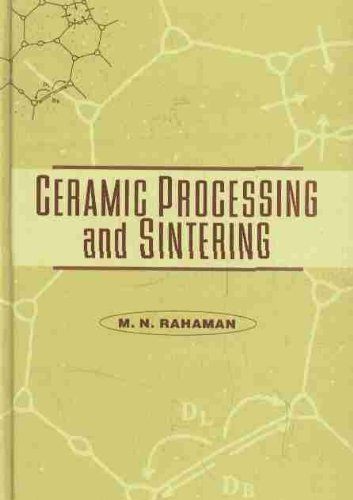 9780824795733: Ceramic Processing and Sintering: 10 (Materials Engineering)