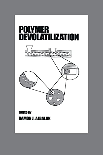 9780824796273: Polymer Devolatilization (Plastics Engineering)