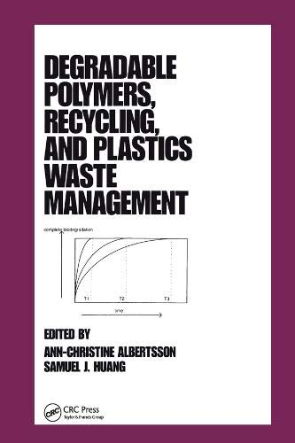 9780824796686: Degradable Polymers, Recycling, and Plastics Waste Management (Plastics Engineering, 29)