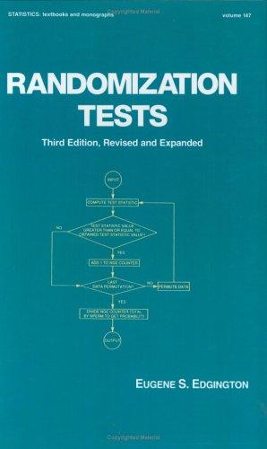 9780824796693: Randomization Tests