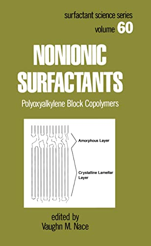 9780824797003: Nonionic Surfactants: Polyoxyalkylene Block Copolymers (Surfactant Science)