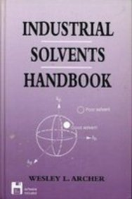 Industrial Solvents Handbook (Software): Archer