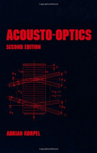 9780824797713: Acousto-Optics, Second Edition (Optical Science and Engineering)