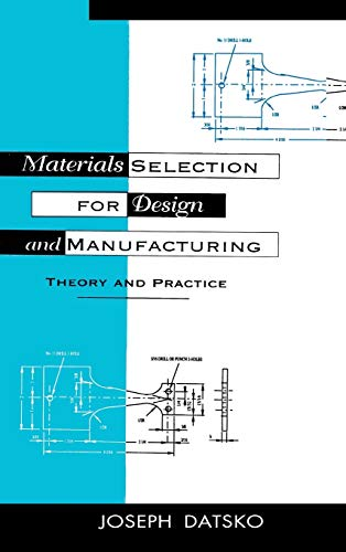 9780824798444: Materials Selection for Design and Manufacturing: Theory and Practice