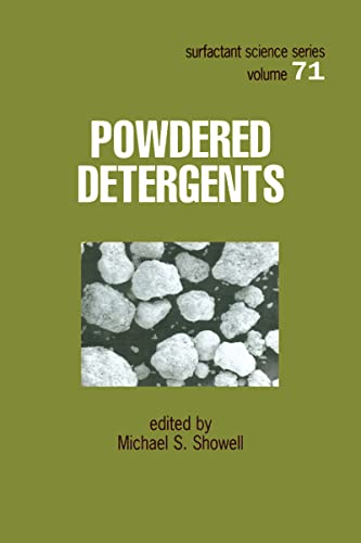 9780824799885: Powdered Detergents (Surfactant Science)