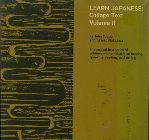 9780824800697: Learn Japanese: v. 2