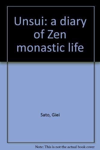 9780824802776: Unsui: a diary of Zen monastic life