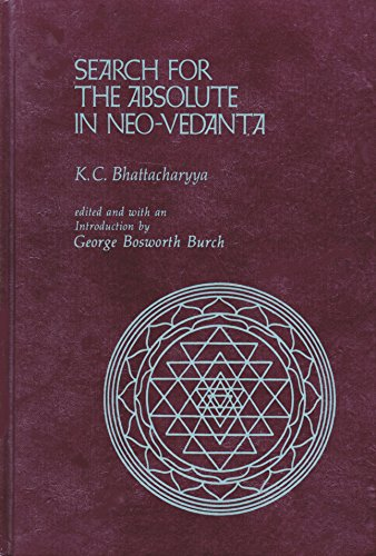 9780824802967: Search for the Absolute in Neovedanta