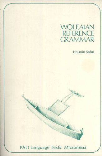 9780824803568: Woleaian Reference Grammar (Pali Language Texts: Micronesia) (English and Austronesian Edition)