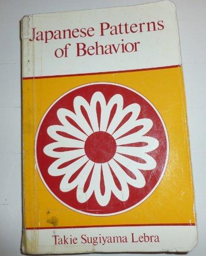 9780824803964: Japanese patterns of behavior