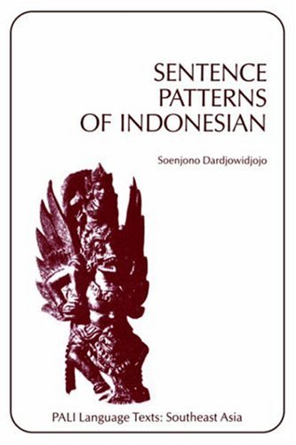 9780824804183: Sentence Patterns of Indonesian (Pali Language Texts : Southeast Asia) (English and Indonesian Edition)