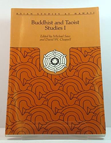 9780824804206: Buddhist and Taoist Studies (Asian Studies at Hawaii, No. 18, <34) (v. 1)