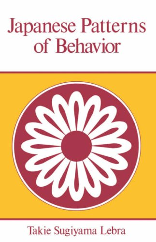 9780824804602: Japanese Patterns of Behaviour (East West Center Book)