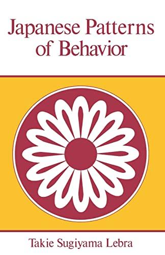 9780824804602: Japanese Patterns of Behavior (East West Center Book)