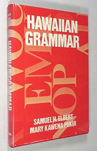 9780824804947: Hawaiian Grammar